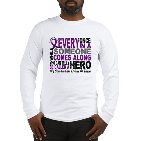 HERO Comes Along 1 Son-In-Law PC Long Sleeve T-Shi
