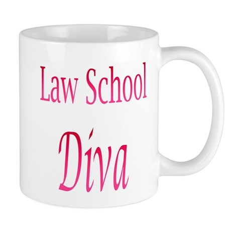 Law School Diva Mugs