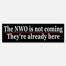 The NWO is here...now