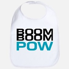 BOOM BOOM POW. Bib