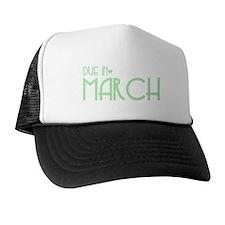 Green Urban Heart Due March Trucker Hat
