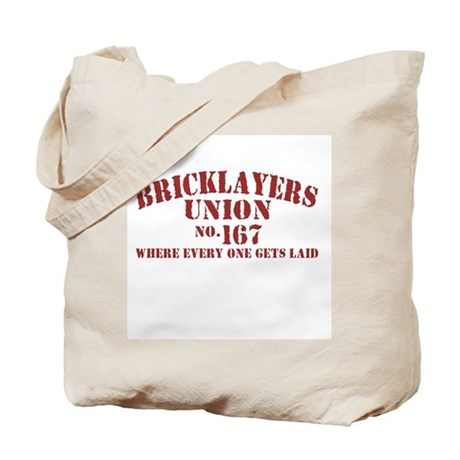 Bricklayers Union Tote Bag