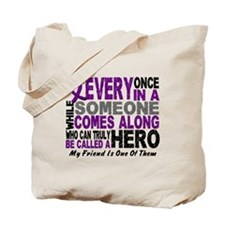 HERO Comes Along 1 Friend PC Tote Bag