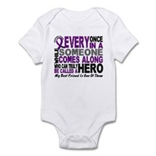HERO Comes Along 1 Best Friend PC Infant Bodysuit