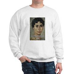 Wisdom of Greece: Hypatia Sweatshirt