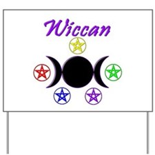 Wiccan Yard Sign