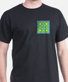 Dutch Blue And Yellow Design T-Shirt