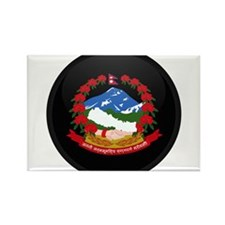 Coat of Arms of Nepal Rectangle Magnet