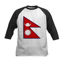 Nepal Flag Tee