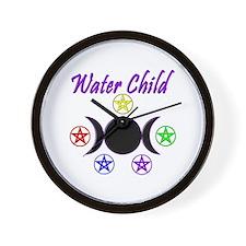 Water Child Wall Clock