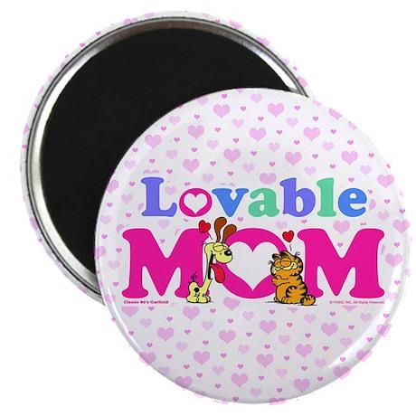 Lovable Mom Vintage Magnet