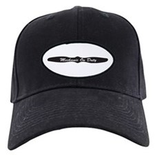 Mechanic On Duty Baseball Hat