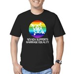 Nevada Supports Marriage Equality dark tshir