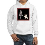 Black Moose T's Hooded Sweatshirt