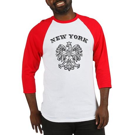 New York Polish Baseball Jersey