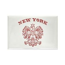 New York Polish Rectangle Magnet