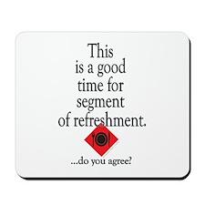 Refreshment Mousepad