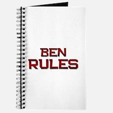 ben rules Journal