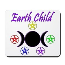 Earth Child Mousepad
