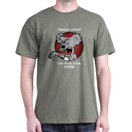 Inebriated the Koala Dark T-Shirt