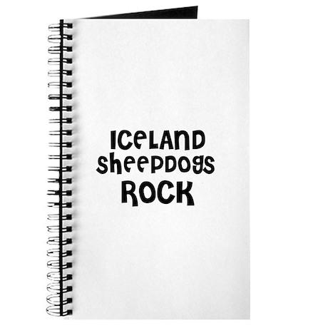 ICELAND SHEEPDOGS ROCK Journal