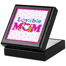 Lovable Mom Vintage Keepsake Box