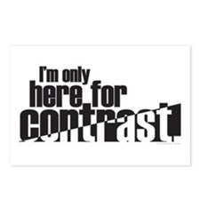 Contrast Postcards (Package of 8)