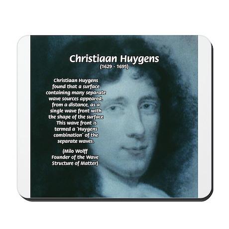 Huygens Combination Mousepad