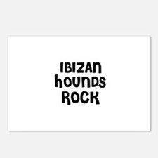 IBIZAN HOUNDS  ROCK Postcards (Package of 8)