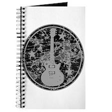 Grey Distressed Star Guitar Journal