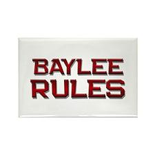 baylee rules Rectangle Magnet