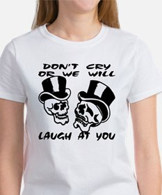 Theater Masks Don't Cry Women's T-Shirt