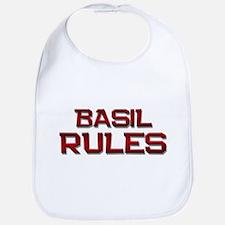 basil rules Bib