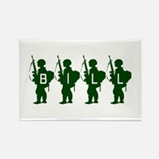 Army Men: Bill Rectangle Magnet