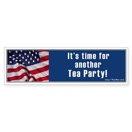 Another tea party Bumper Sticker