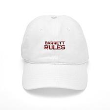 barrett rules Baseball Cap