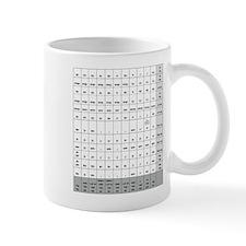 CANE Noun Chart Mug