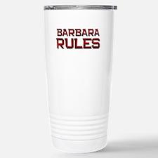 barbara rules Travel Mug