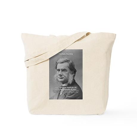 Thomas Huxley and Darwin Tote Bag