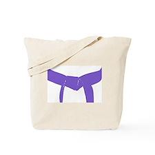Martial Arts Purple Belt Tote Bag