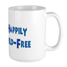 Happily Child-Free Mug