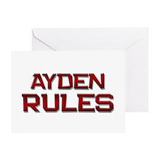 ayden rules Greeting Card