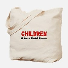 Children Social Disease Tote Bag