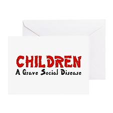 Children Social Disease Greeting Card