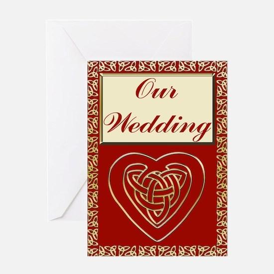 Celtic Heart Wedding Set Greeting Card