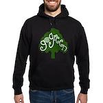 go green Hoodie (dark)