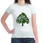 go green Jr. Ringer T-Shirt