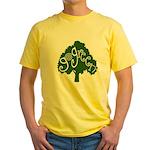 go green Yellow T-Shirt