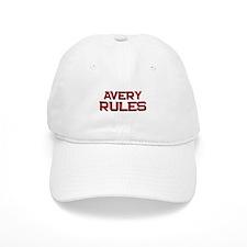 avery rules Baseball Cap
