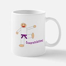 Purple Belt Congratulations Mug